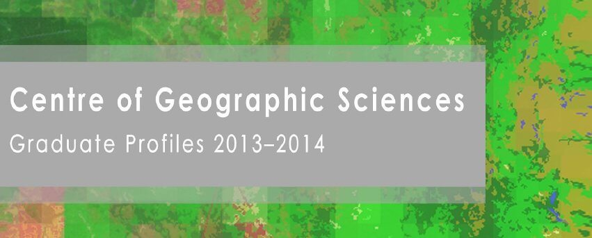 COGS 2014 Grad Profiles