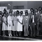 First graduation class of SCP in 1981