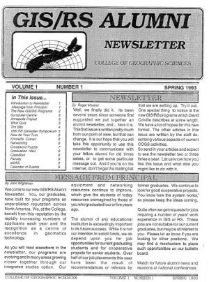 1993 GIS-RS Alumni Newsletter v2