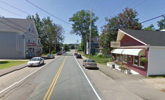 Downtown Lawrencetown, Nova Scotia