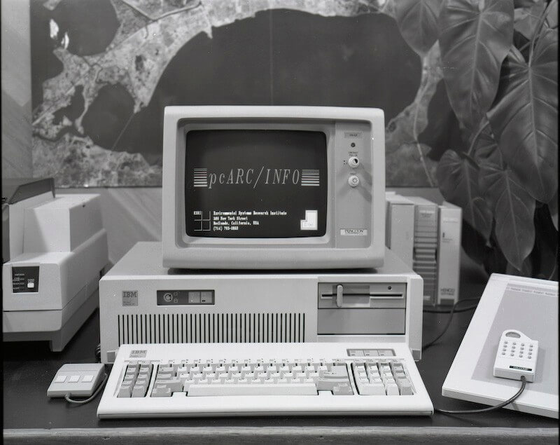 ArcInfo during the 80s