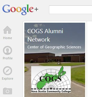 COGS Alumni network on google+